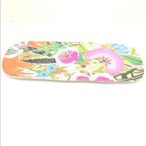 NWT Anthropologie Lulie Wallace pattern tray